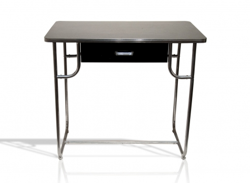KEM WEBER (1889-1963), Lloyd Chromium WD-42 Writing Desk, c. 1938