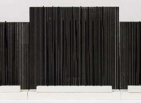 KEN BORTOLAZZO , Optical Triptych, 2013/20