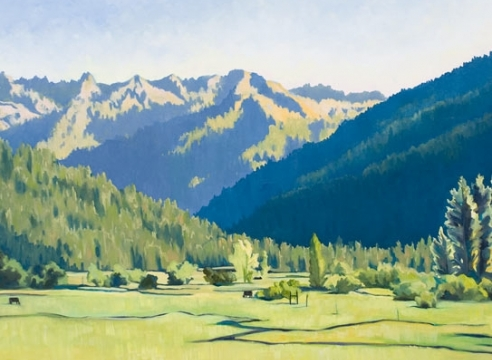 ROBIN GOWEN , Indian Valley Afternoon,
