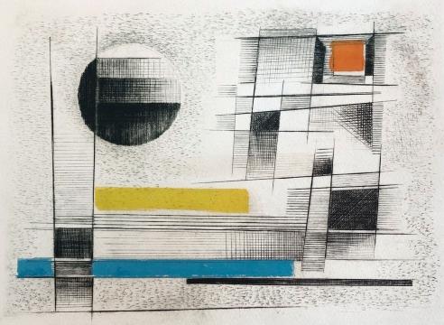 WERNER DREWES (1899-1985), Ice Age, 1983