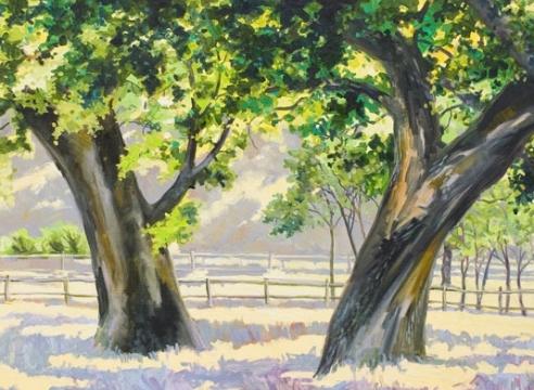 ROBIN GOWEN , Reaching Oaks,
