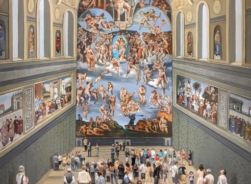 MICHAEL DVORTCSAK (1938-2019), The Sistine Chapel, 2010