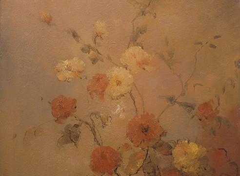 LEON DABO, Garden Flowers Still Life, c. 1918