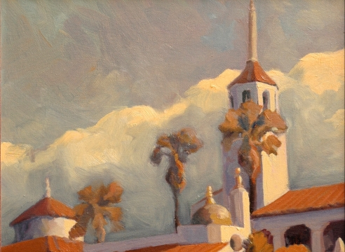 JON FRANCIS, The Arlington, 2003 for LANDMARKS OF SANTA BARBARA, 2003