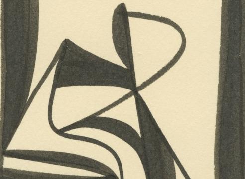 SIDNEY GORDIN (1918-1996), #157, c. 1943