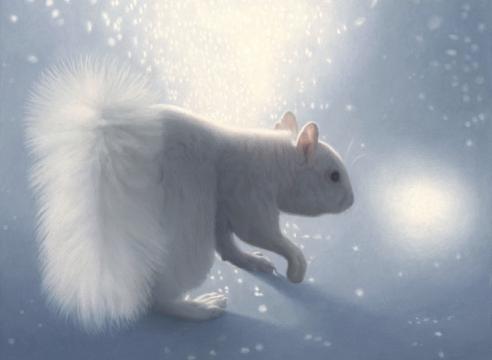 SUSAN MCDONNELL, Polar Squirrel, 2021