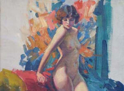 THE HISTORY OF THE NUDE IN THE ART OF CALIFORNIA