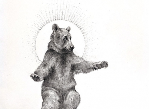 ADONNA KHARE, Radiant Bear, 2021