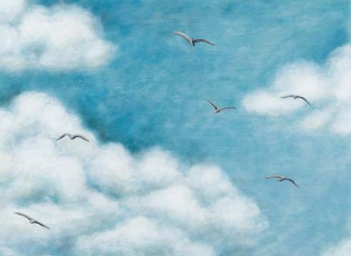 LIZ BRADY, The Flock, 2020