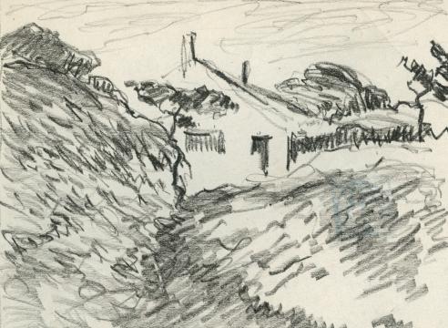 LEON DABO (1864-1960), Pierre Bonnard's Summer House, c. 1938