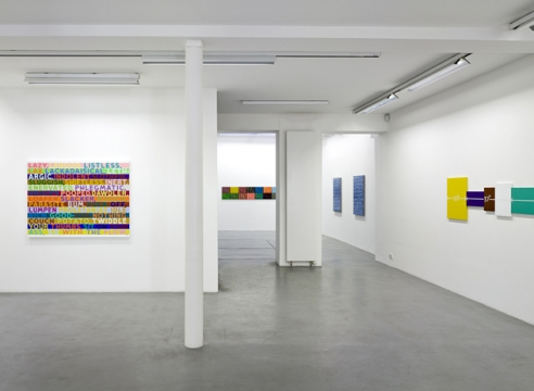 Mel Bochner 1998-2007: Painting, sculpture and installation