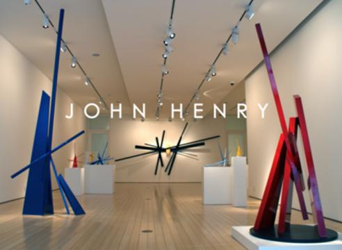 John Henry contemporary sculpture