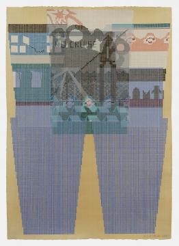 textile pattern drawing