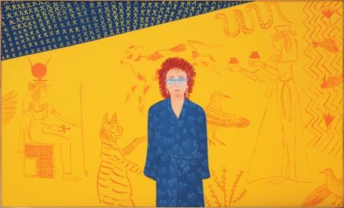 Joan Brown, Homage to Akhenaton, 1983