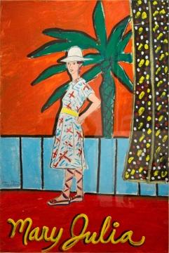 Joan Brown, Mary Julia #18, 1976