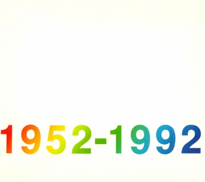 40th Anniversary Exhibition Announcement 1992