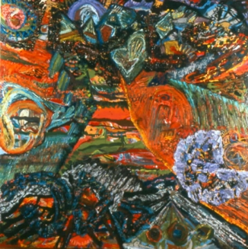 Philip Wofford, 'Cherokee Plains' 1989.