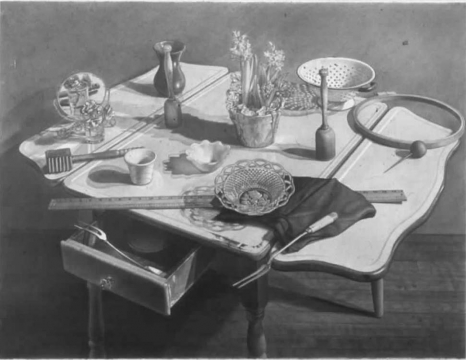 James Valerio, 'Still Life on Kitchen Table' 1987-89
