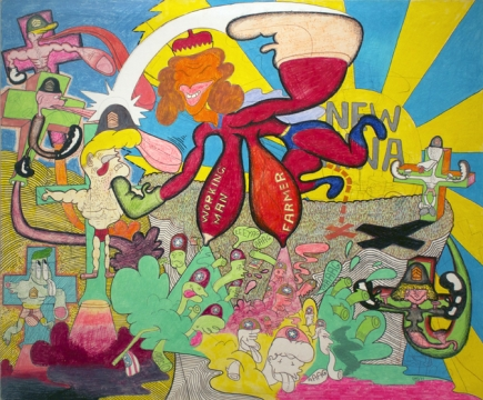 Peter Saul: from Pop to Politics