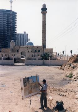 Philip Pearlstein in Tel Aviv