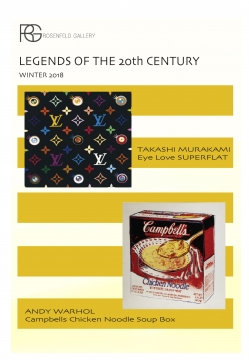 MURAKAMI / WARHOL LEGENDS OF THE 20TH CENTURY