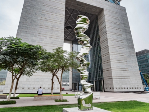 Tony Cragg at DIFC Gate