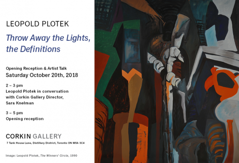Leopold Plotek: Throw Away the Lights, the Definitions
