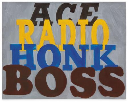Ed Ruscha: Ace Radio Honk Boss