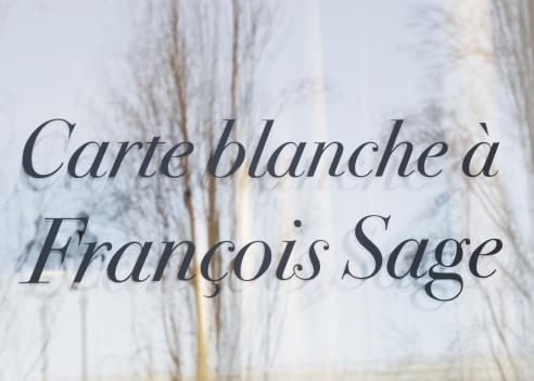 Carte blanche à François Sage