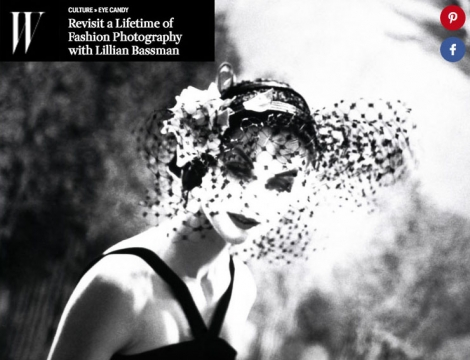 Lillian Bassman in W Magazine