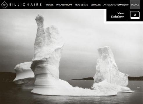 The Iceberg Photographs of Lynn Davis