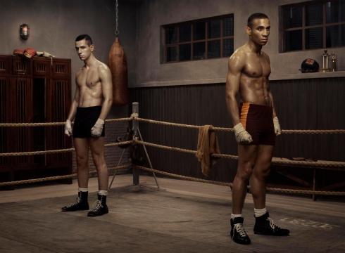 Erwin Olaf, The Boxing School