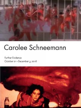 Carolee Schneemann: Further Evidence