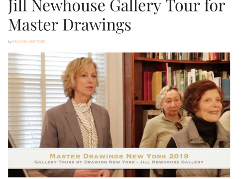 Profile on Drawing New York: Jill Newhouse Gallery, January 2019