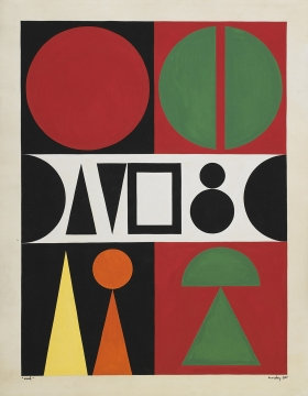 Auguste Herbin Geometric Abstraction: Works on Paper 1938-59