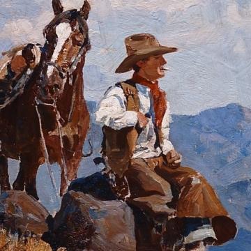 FRANK TENNEY JOHNSON (1874-1939)