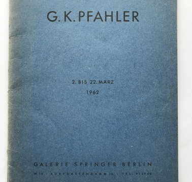 Galerie Springer, Berlin Germany