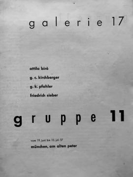 Galerie 17, Munich, Germany