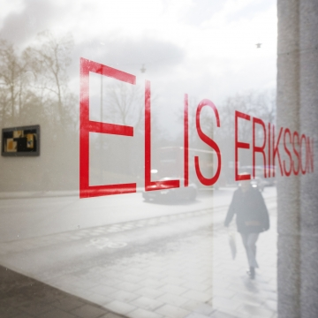 Elis Eriksson at both of our galleries (Sturegatan 36, 7-15 April and Rådmansgatan 15, 7-14 April)