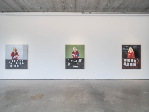 Lena Cronqvist, The Work of Mourning / Bonniers Konsthall, Stockholm