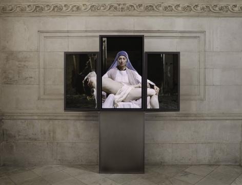 Bill Viola at St. Paul's Cathedral