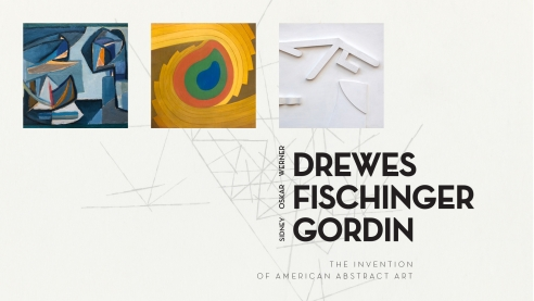 WERNER DREWES | OSKAR FISCHINGER | SIDNEY GORDIN: The Invention of American Abstract Art