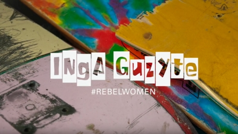 INGA GUZYTE #rebelwomen