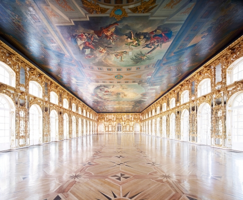 The Vast Halls of Imperial Russia through the Lens of Candida Höfer