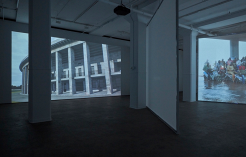 David Claerbout Stages a 1,000-Year Battle between Architecture and Time