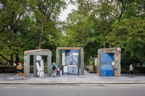 A New Public Art Exhibit Outside Central Park