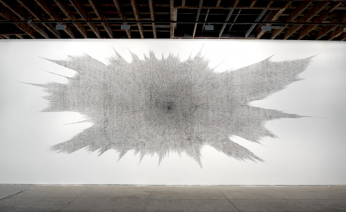 Idris Khan's Beyond the Black' at Victoria Miro