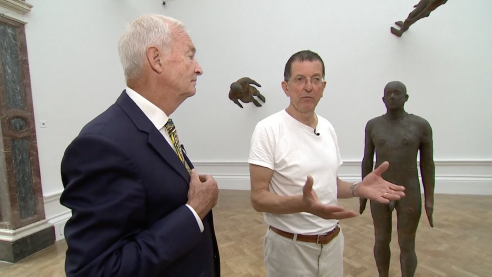 Antony Gormley on his Royal Academy Exhibition