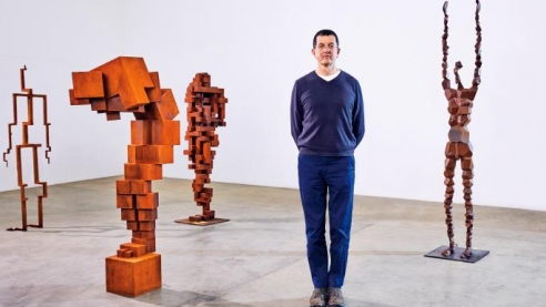 Sir Antony Gormley: the art world's favourite supermodel