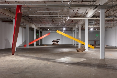 The Tension Is High in Jose Dávila's Directional Energies at Dallas 	Contemporary